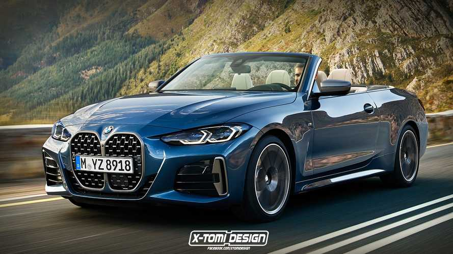 BMW 4 Series Cabrio and M4 renderings
