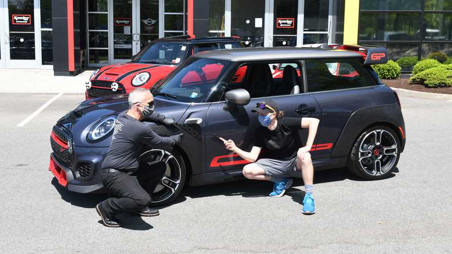 Mini's 'Number One Fan' Takes Delivery Of The First JCW GP