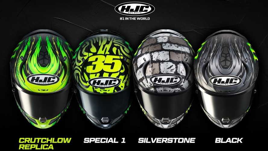 HJC Introduces New Crutchlow Replica Helmet Designs For 2020