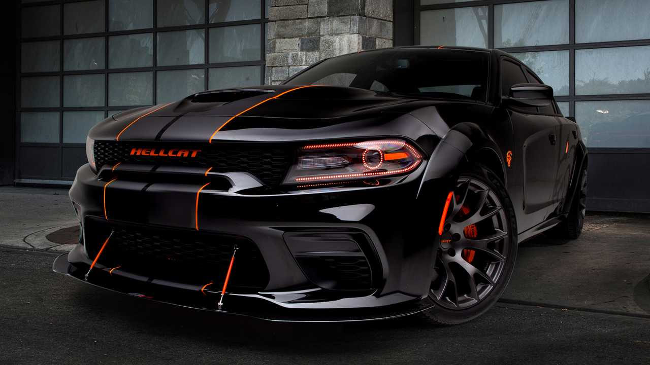 You Can Win This Dodge Charger Hellcat Widebody 20 000 Cash