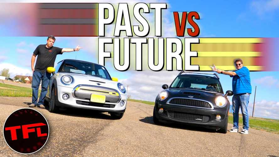 Mini JCW Drag Races The New Electric Mini