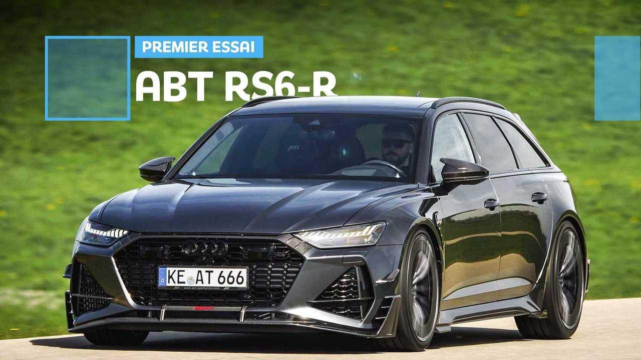 Vignette Essai ABT RS6-R