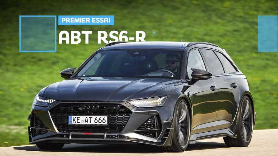 Essai ABT RS6-R (2020) -  Que vaut la super RS 6 avec 740 chevaux ?