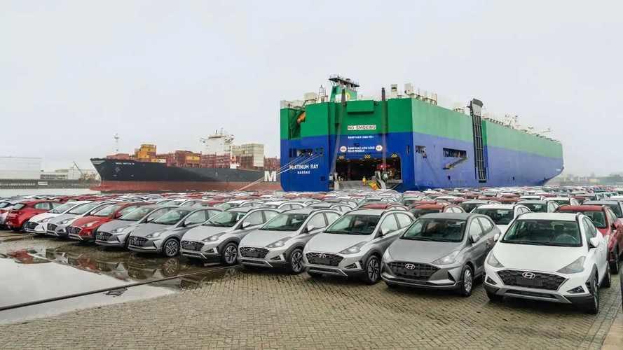 Hyundai HB20 - Exportação para a Colômbia