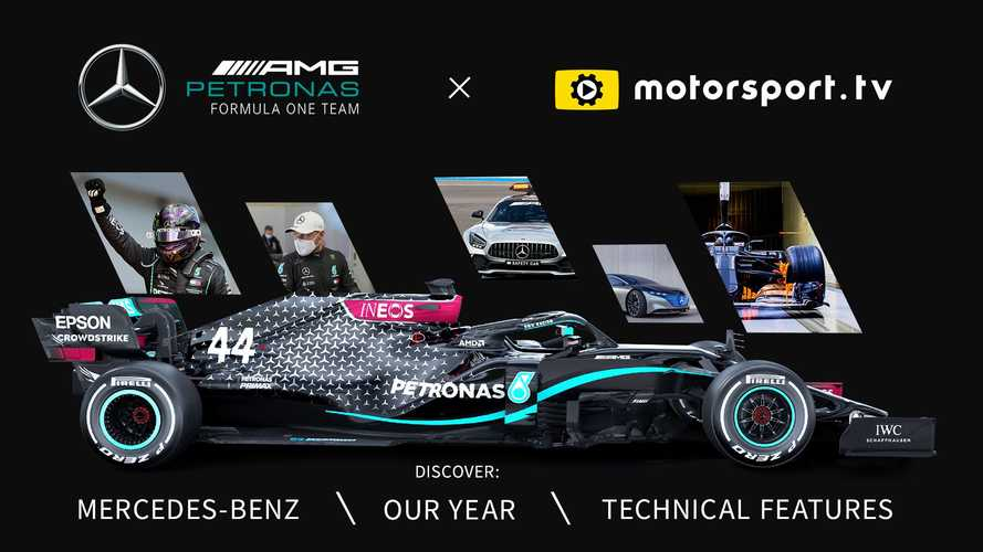 Mercedes-Benz Motorsport, Motorsport.tv'de!