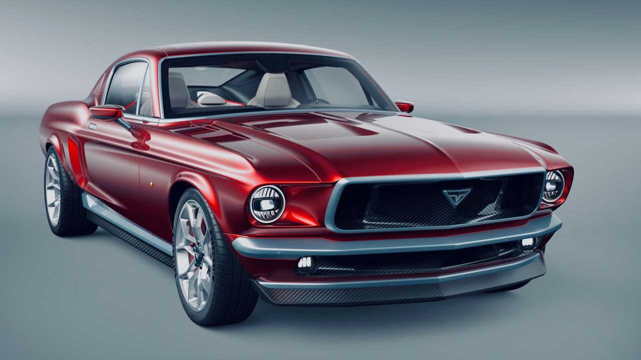 Aviar R67 All-Electric Mustang Concept: Front Quarter