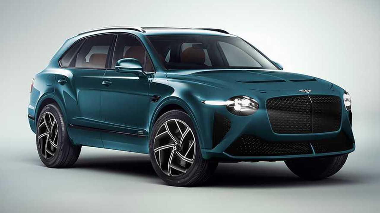Bentley Bentayga Renderings