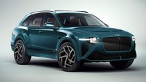 Bentley Bentayga Renderings