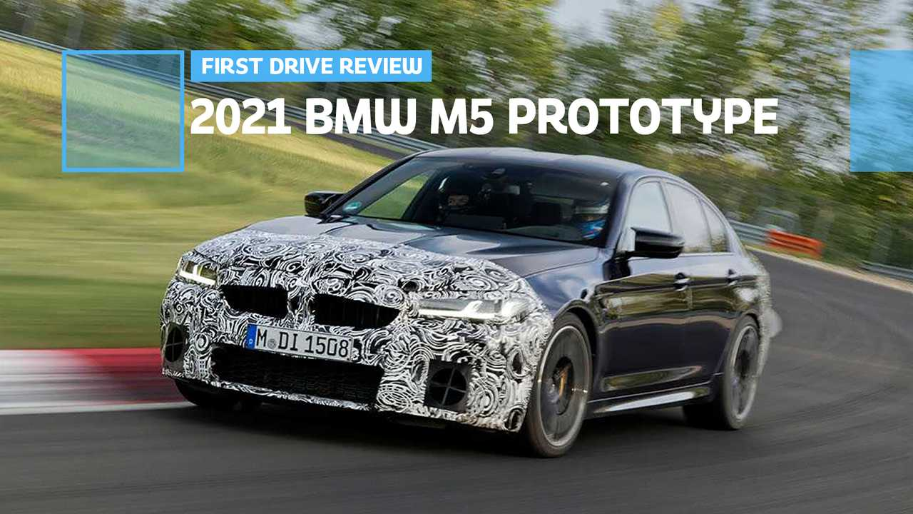 2021 BMW M5 Prototype