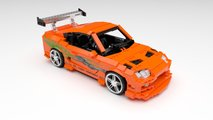 Lego Ideas Toyota MkIV Supra from 'The Fast and the Furious'
