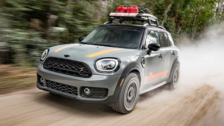 Lifted Mini Countryman By X-Raid Looks Great In Adventure Gear