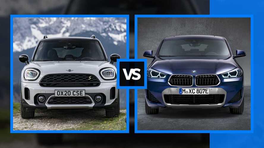 MINI Countryman o BMW X2? Una guida alla scelta delle ibride plug-in