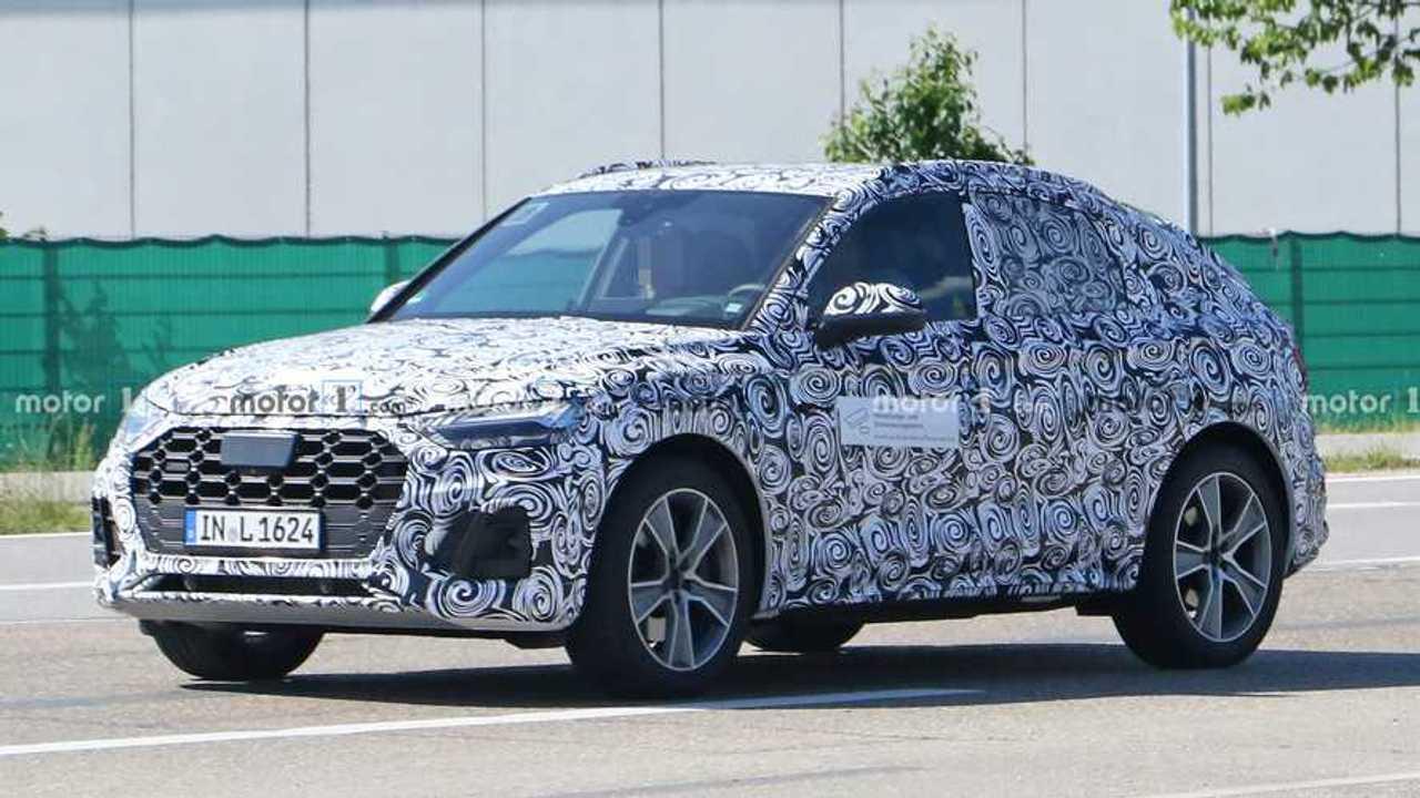 Audi Q5 Sportback casus fotoğraf