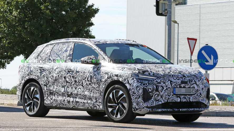 Yeni Audi Q4 E-Tron ilk kez üretim gövdesiyle görüntülendi