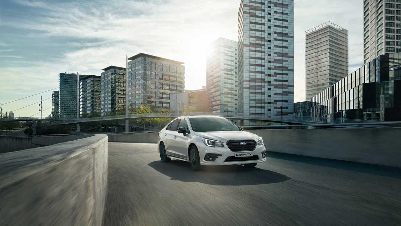Subaru Legacy Ultimate (2020) для России