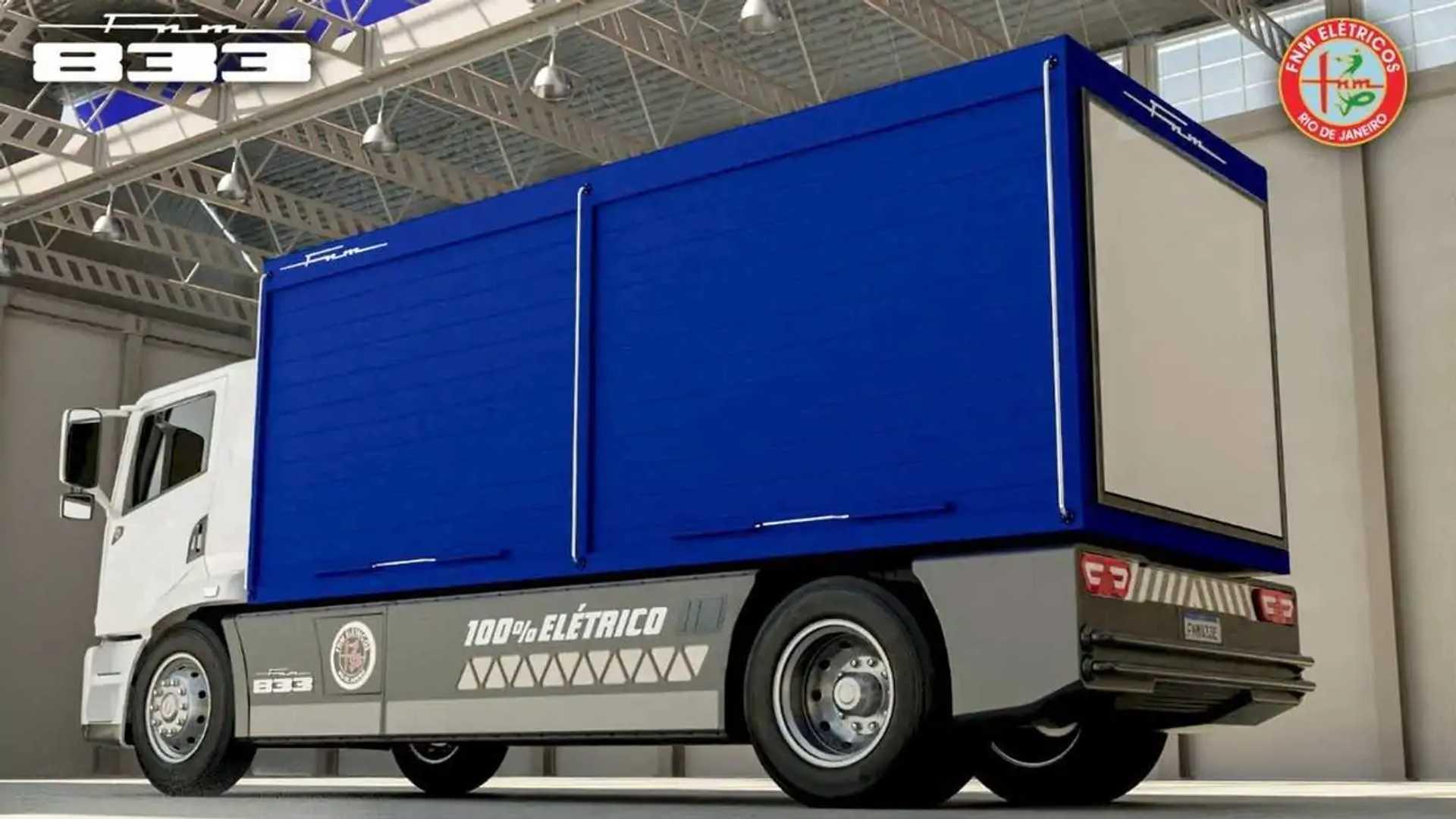 FNM - caminhão elétrico - 2