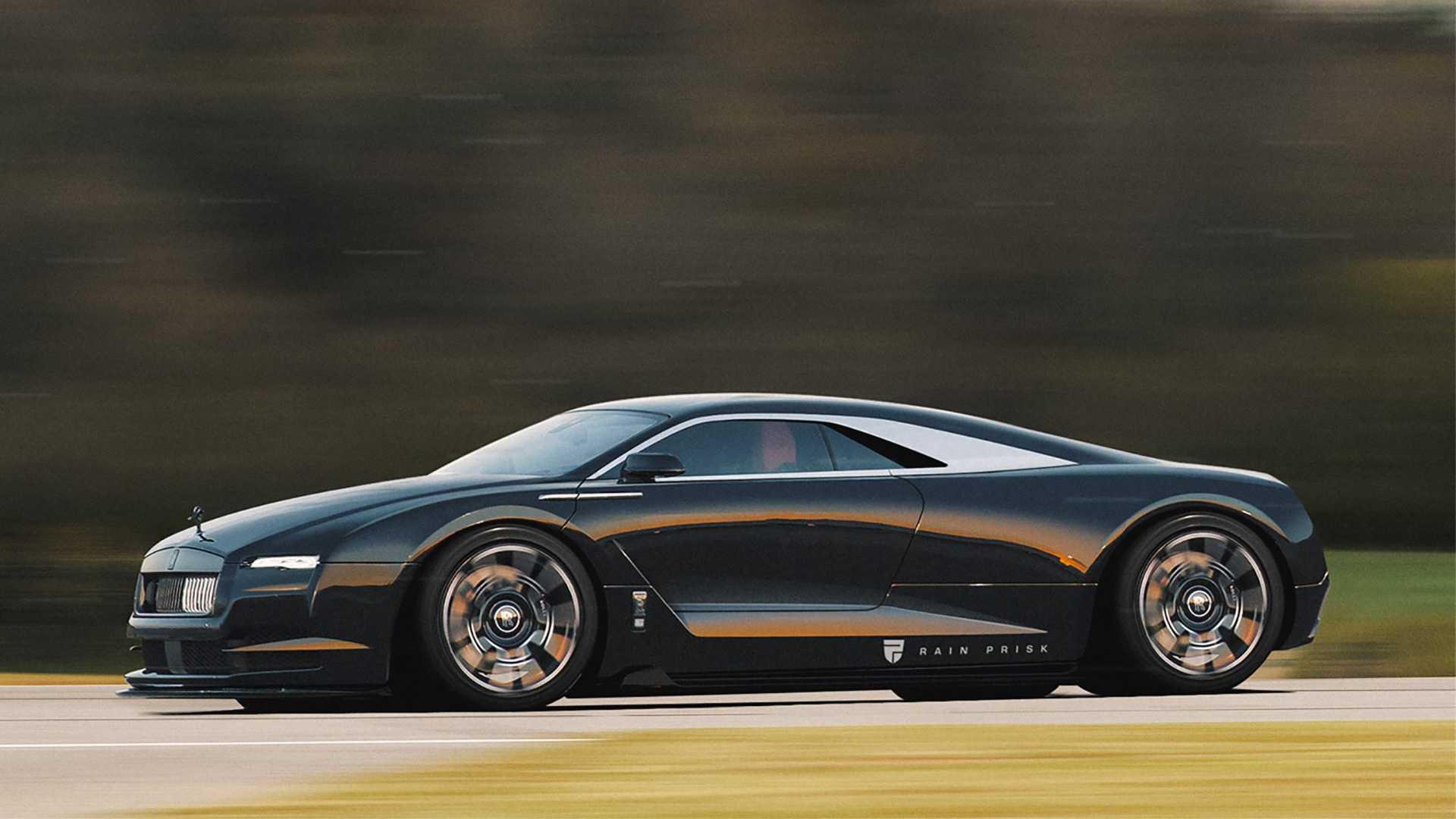 Rolls-Royce Rendering Imagines A Mid-Engine Luxury Supercar