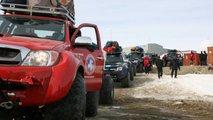 Toyota Hilux Arctic Trucks Antarctica 2010