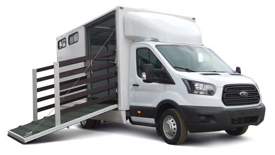 Коневозка Ford Transit