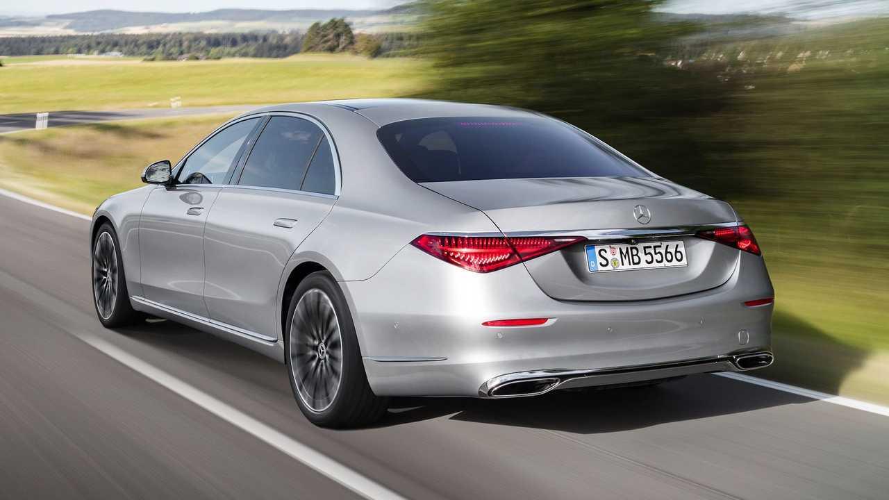 2021 Mercedes-Benz Classe S Extérieur