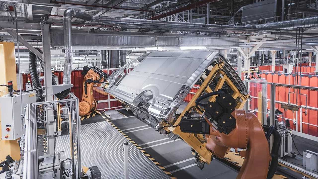 Volkswagen e-Crafter production in Wrzesnia, Poland