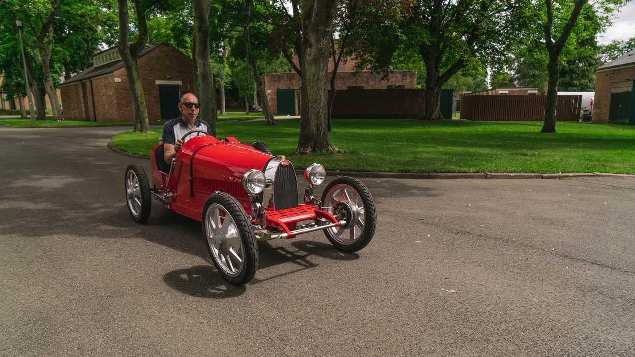 Серийная версия Bugatti Baby II