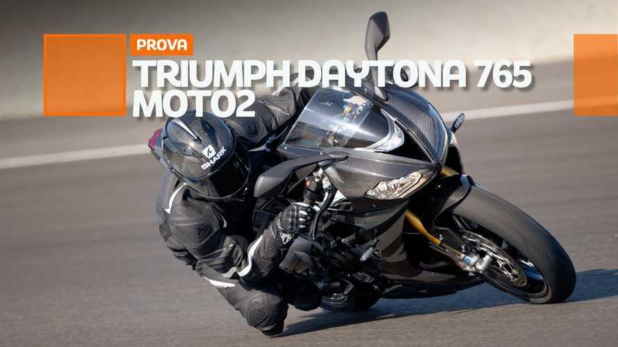 Triumph Daytona 765 Moto2 Limited Edition, ecco come va