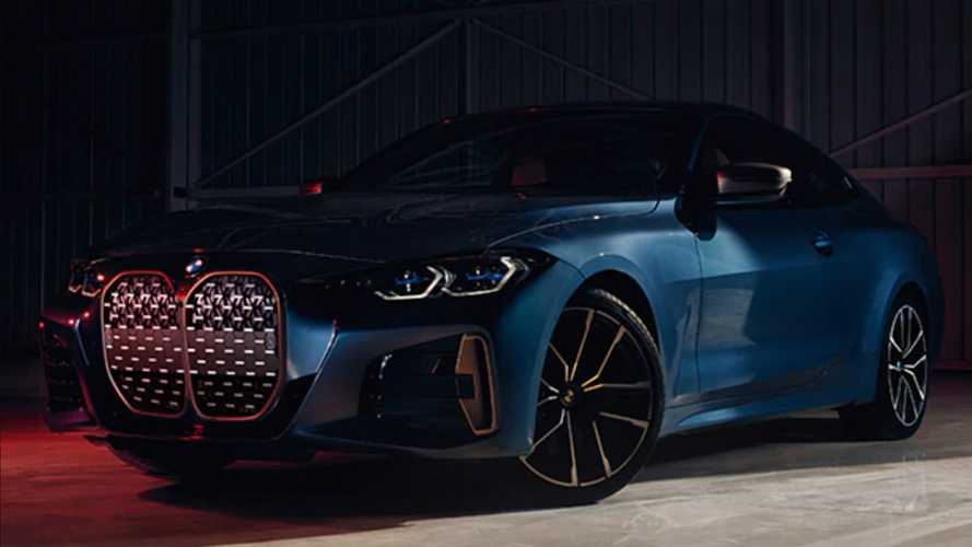 2021 BMW 4 Series Coupe Without Front License Plates