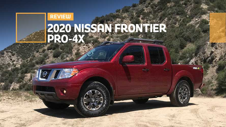 2020 Nissan Frontier Pro-4X Review: New Engine, Same Old Charm