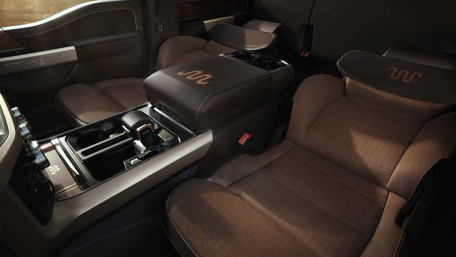 Ford's Reason In Creating The 2021 F-150's Max Recline Seats Is Simple