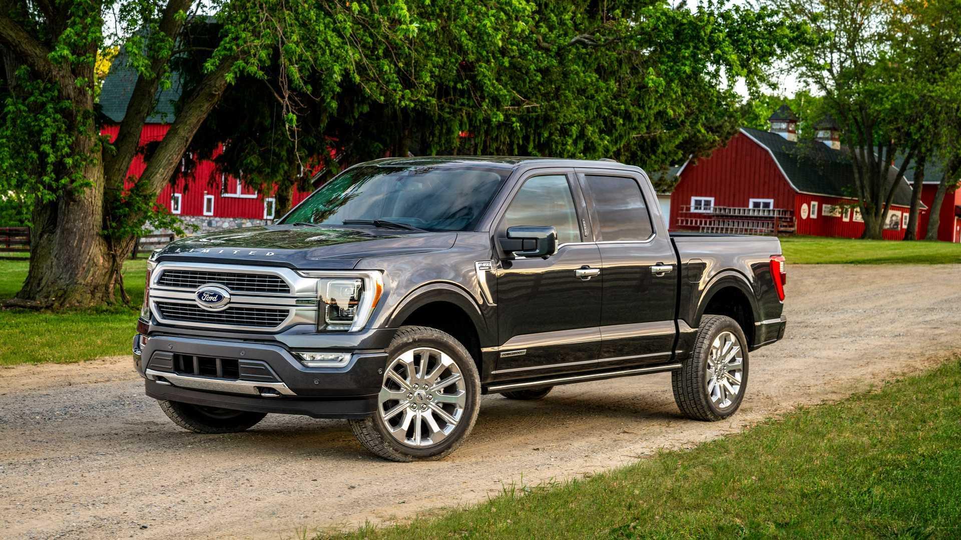 2021 Ford 150 Wallpaper