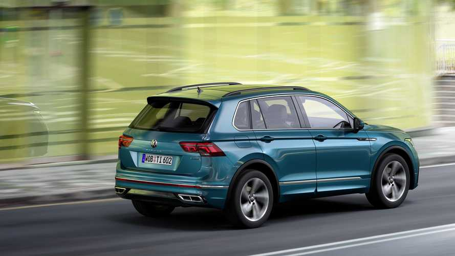 Обновленный Volkswagen Tiguan проверили «лосиным» тестом