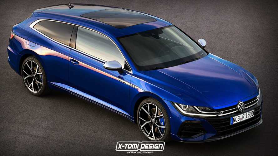 2021 VW Arteon Would Look Even Better As A Proper Shooting Brake