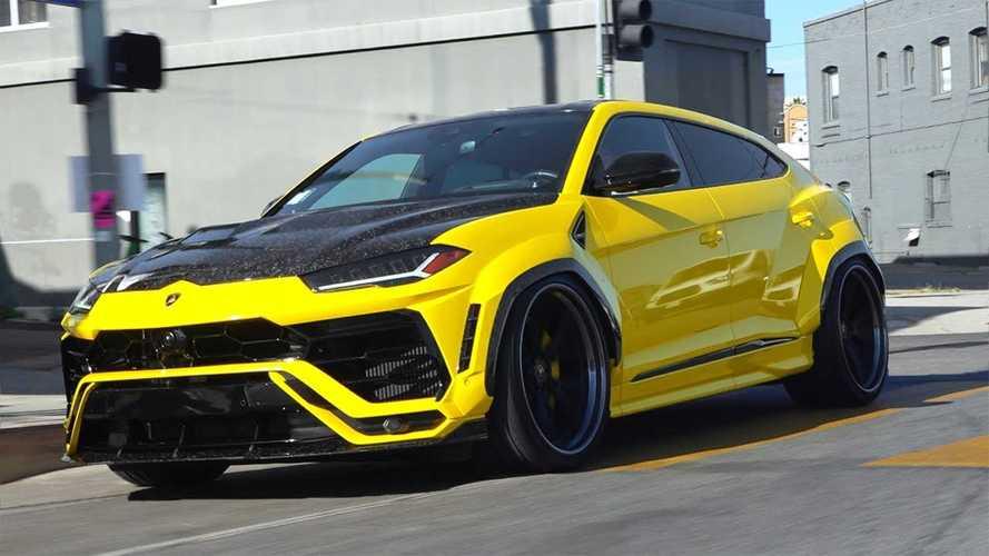 Kevés SUV néz olyan jól ki, mint ez a Lamborghini Urus