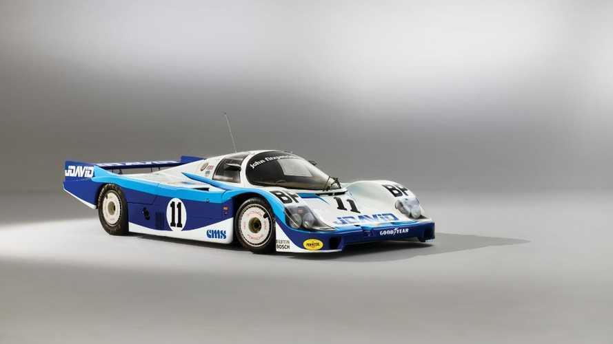 Time-warp Porsche 956 race car set for 70th anniversary sale