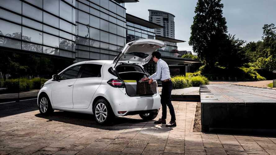 Renault Introduces ZOE Van Version In UK