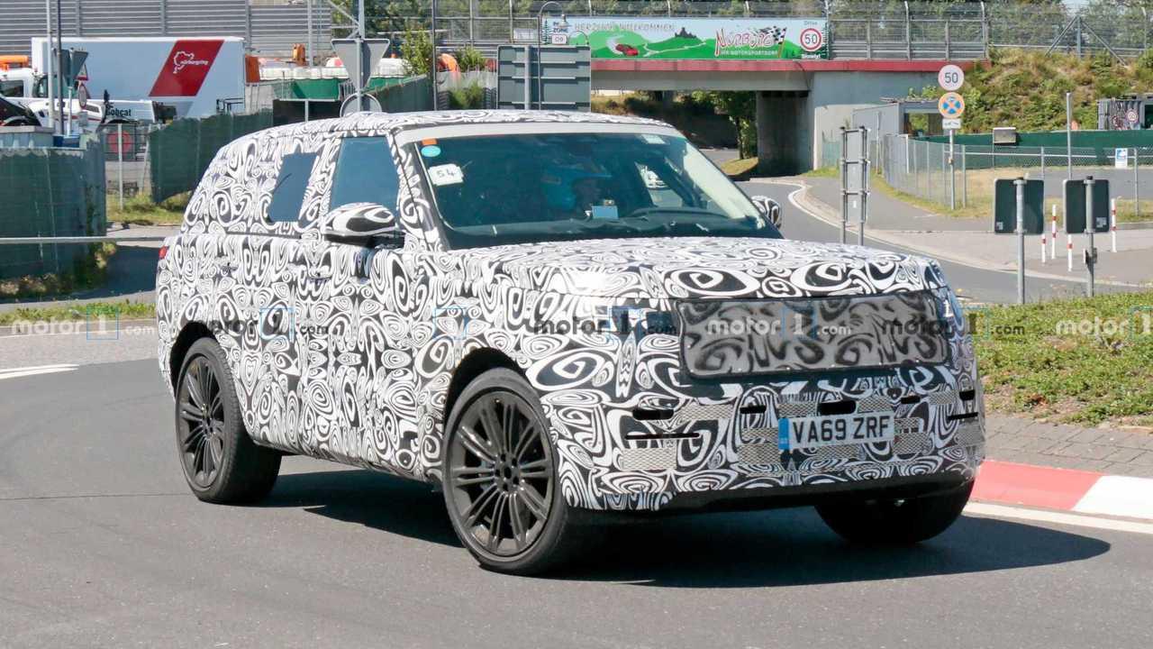 Flagra: Range Rover Sport 2022 em Nürburgring