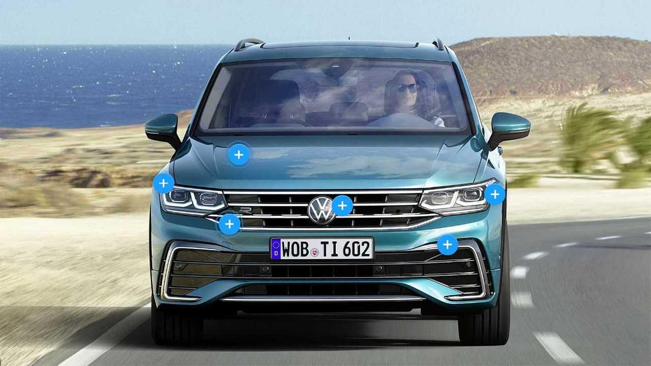 Volkswagen Tiguan restyling, le novità punto per punto