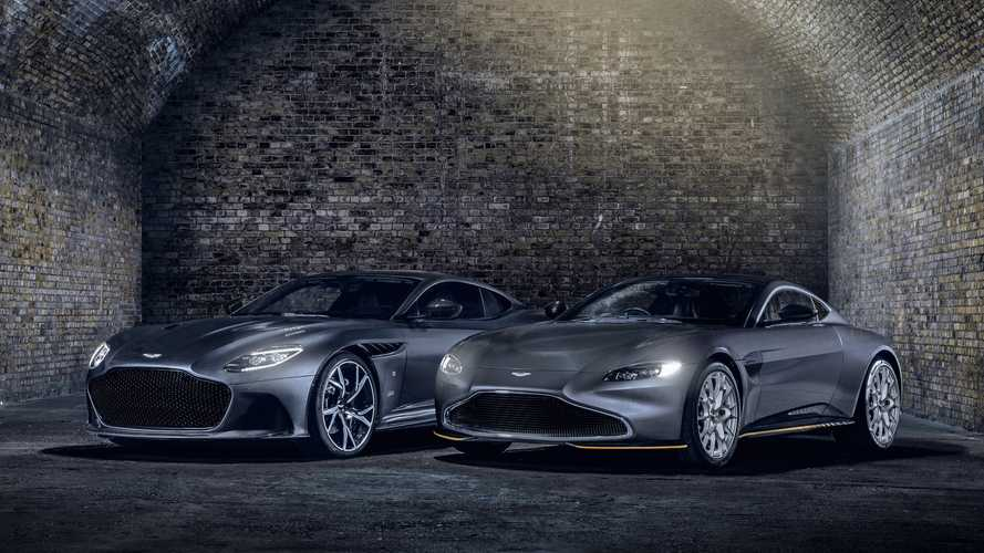 Aston Martin launches Bond-themed Vantage and DBS Superleggera