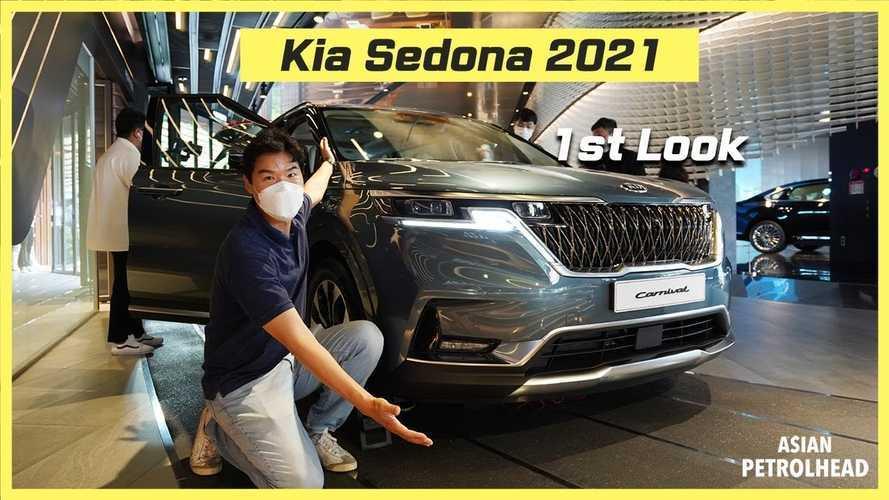 2021 Kia Sedona Extended Video Might Make You Actually Want A Minivan