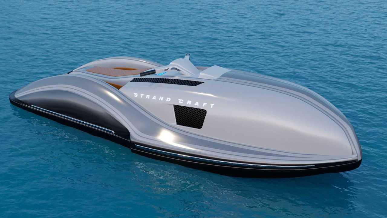 Moto de agua Strand Craft con motor V8