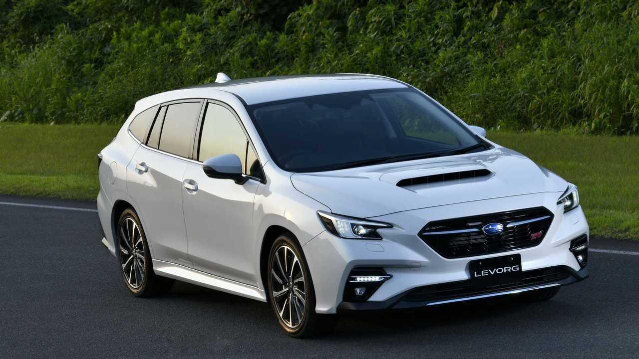 Subaru Levorg (2020), вид спереди