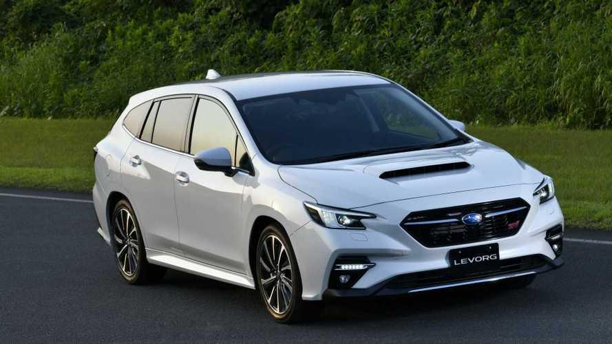 Универсал Subaru Levorg впервые сменил поколение