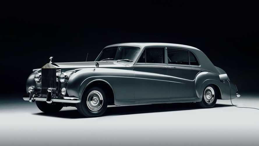 Cette Rolls-Royce est entièrement électrique !