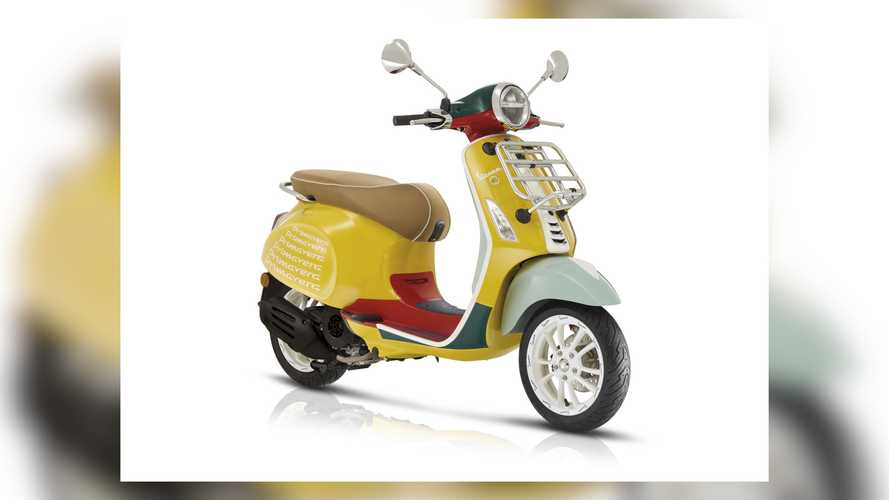 This Vespa Primavera Collab With Sean Wotherspoon Is So Bright