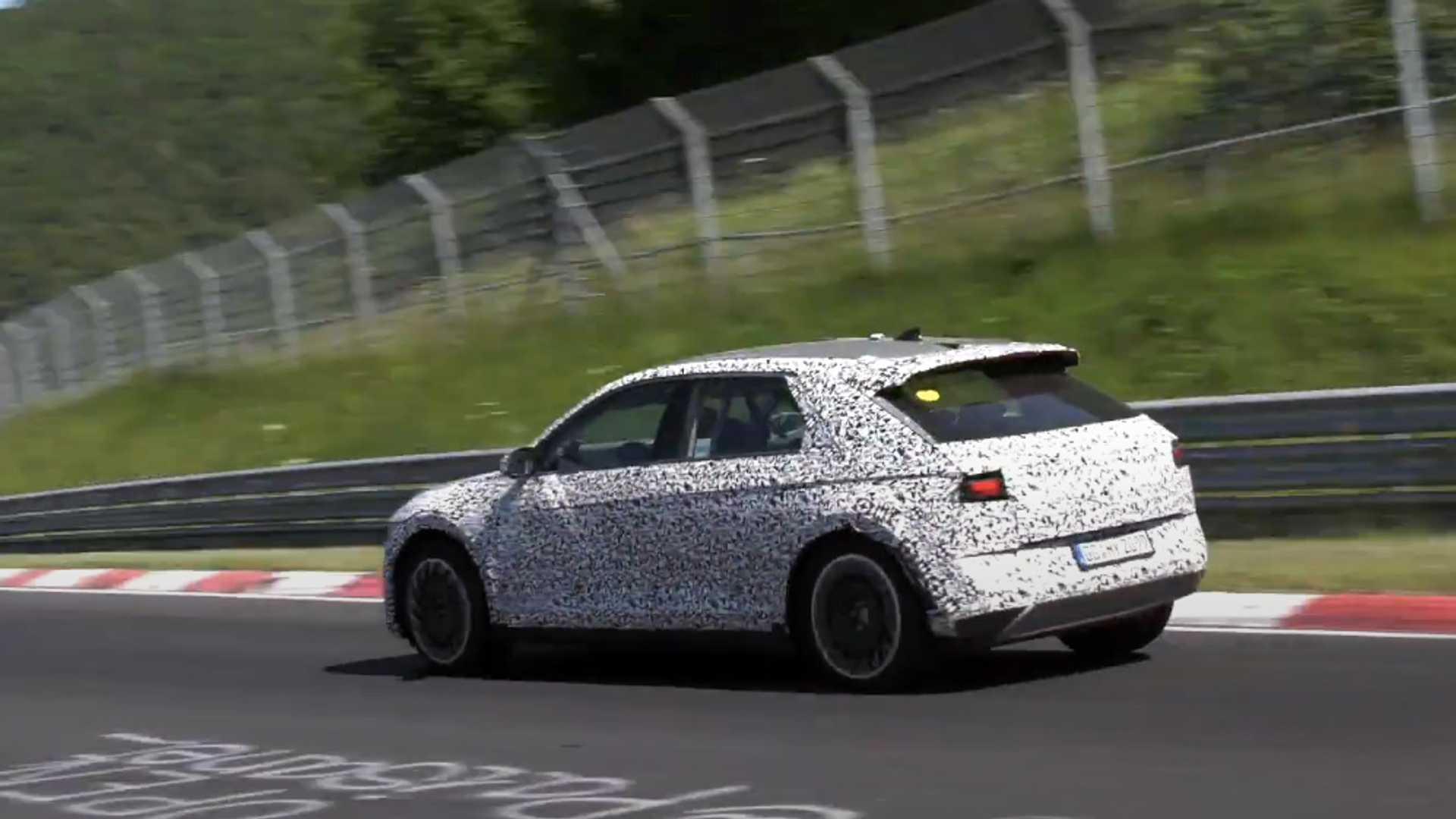 2022 Hyundai Ioniq 5 Sporty Electric Crossover Takes To The Nurburgring