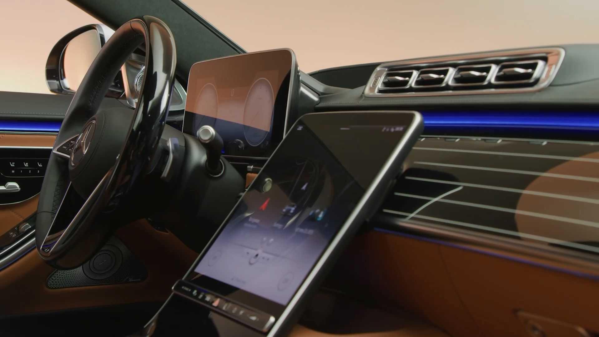 Download Mercedes A Klasse Innenraum Nacht Images