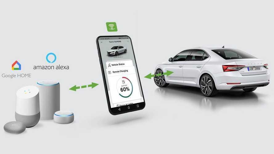 Alexa pode recarregar elétricos e híbridos plug-in por comando de voz