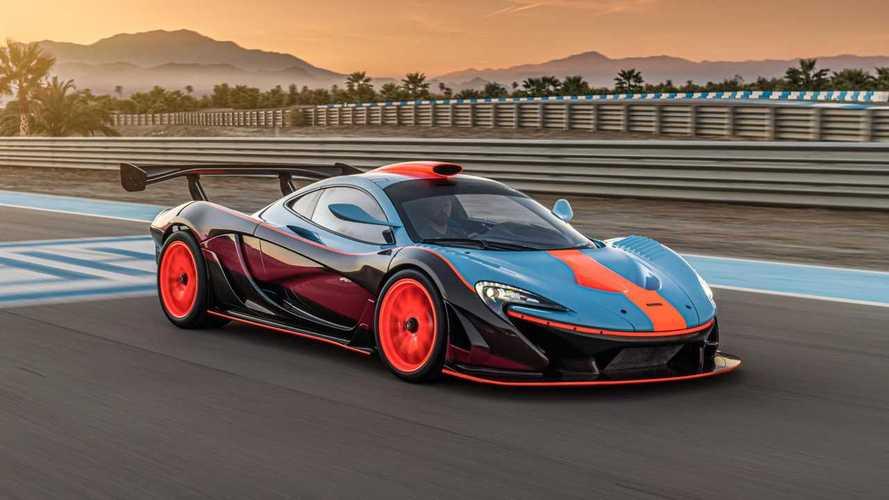 Así es el McLaren P1 GTR-18 de Lanzante: de calle y con decoración Gulf