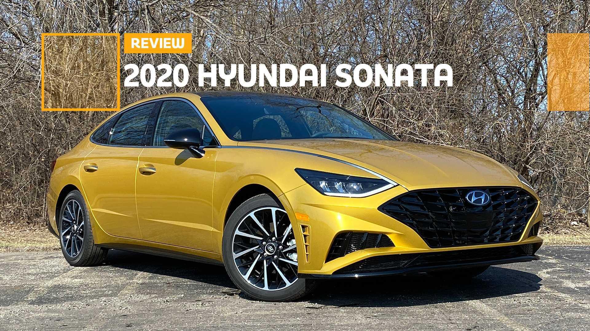 2020 Hyundai Sonata Sel Plus Review Resurgent